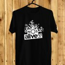 NOS ALIVE Portugal Logo Black Tee's Front Side by Complexart
