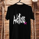 One OK Rock Ambitions Logo Black Tee's Front Side by Complexart