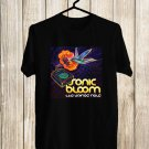 Sonic Bloom Festival 2017 Black Tee's Front Side by Complexart