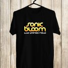 Sonic Bloom Festival 2017 Black Tee's Front Side by Complexart z1