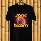 Sonic Bloom Festival 2017 Black Tee's Front Side by Complexart z3