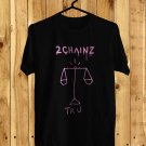 2Chainz Pretty Girls Like Trap Music logo black Tee's Front Side by Complexart z1
