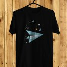 Ben Folds Paper Air Plane Request 2017 Black Tee's Front Side by Complexart