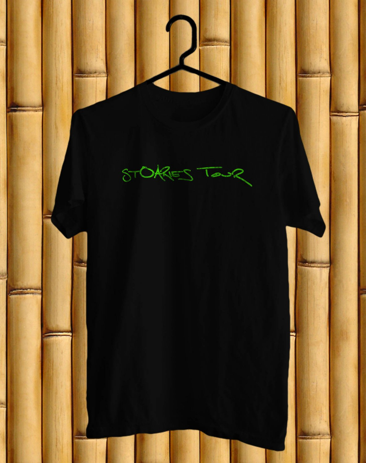 O.A.R The Stoaries 2017 Black Tee's Front Side by Complexart