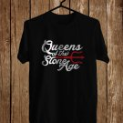 Queen Of the Stone Age Tour Black Tee's Front Side by Complexart z3