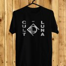 Cult of Luna Logo Black Tee's Front Side by Complexart