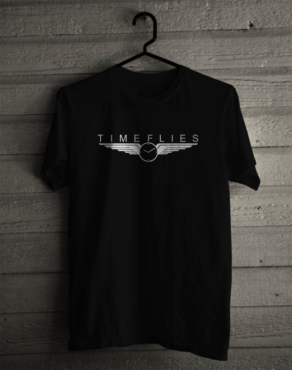 Timeflies Too Much Too Dream Logo Tour 2017 Black Tee's Front Side by Complexart z4