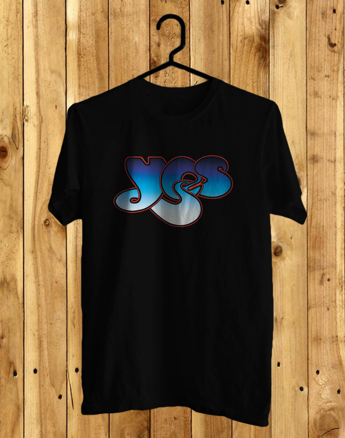 Yes Yestival 2017 Black Tee's Front Side by Complexart z1