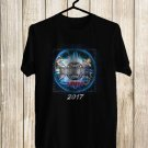 Tesla mechanical Resonance 30th Anniv Tour 2017 Black Tee's Front Side by Complexart z1