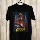 Grizz Good Will Continue Tour 2017 on Red Rock Amphiteater Black Tee's Front Side by Complexart
