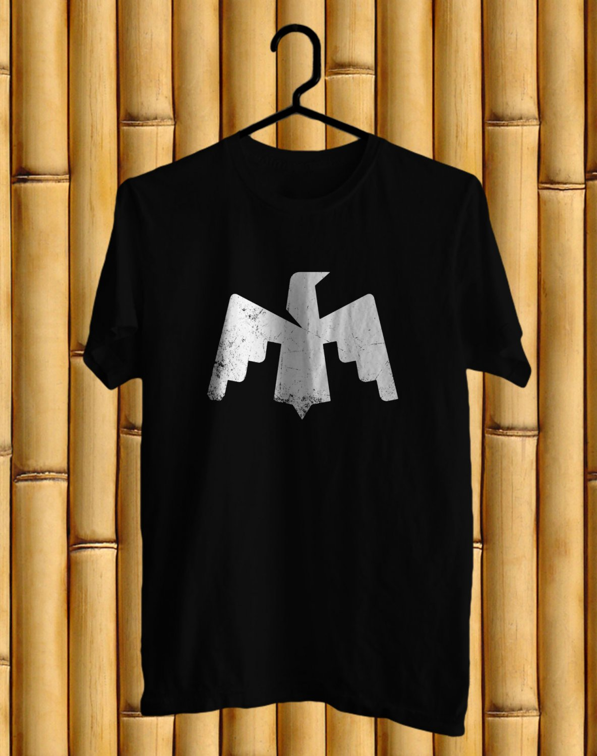 Maha Music festival Logo 2017 Black Tee's Front Side by Complexart