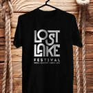 Lost Lake Music Festival Logo Black Tee's Front Side by Complexart