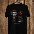 Sammy Hagar and the Circle USA Tour 2017 Black Tee's Front Side by Complexart