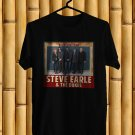 Steve Earl and The Dukes Tour 2017 Black Tee's Front Side by Complexart z1