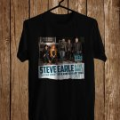 Steve Earl and The Dukes Tour 2017 Black Tee's Front Side by Complexart z3