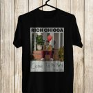 Rich Chigga Come To My Party 2017 Black Tee's Front Side by Complexart