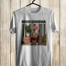 Rich Chigga Come To My Party 2017 White Tee's Front Side by Complexart
