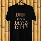 Jay Z 4:44 N.America Tour 2017 Black Tee's Front Side by Complexart