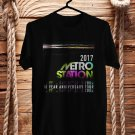 Metro Station 10Years Anniversary 2017 Black Tee's Front Side by Complexart