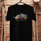 Metro Station 10Years Anniversary 2017 Black Tee's Front Side by Complexart z1