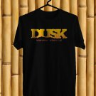 Dusk Music Fest Logo Oct 2017 Black Tee's Front Side by Complexart