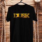 Dusk Music Fest Logo Oct 2017 Black Tee's Front Side by Complexart z1