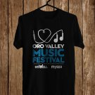 ORO Valley Music Fest Logo Sept 2017 Black Tee's Front Side by Complexart