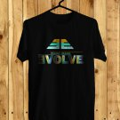 Imagine Dragons Evolve Logo 2017 Black Tee's Just Front Side by Complexart z3