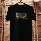 Houston Open Air Music fest Logo 2017 Black Tee's Front Side by Complexart