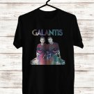 Galantis The Aviary Tour Logo 2017 Black Tee's Just Front Side by Complexart z1