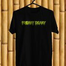 Freaky Deaky Fest Logo 2017 Black Tee's Front Side by Complexart