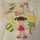Enjoy The Beach Girl c4 - Mat Set