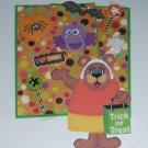 Trick or Treat Bear - Mat Set