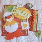 Easter Tear Bear Duck c4 - Mat Set