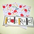 Kids Rule Title a - MME - Mat Set