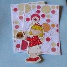 Picnic Girl Hamburger a4 - MME - Mat Set