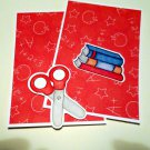 Scissors and Books - MME - Mat Set