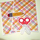 Scissors and Pencil - MME - Mat Set
