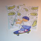 Skateboard Boy d - MME - Mat Set