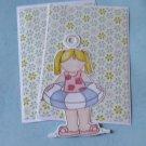 Swimming Girl a1 - MME - Mat Set