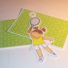 Tennis Girl d - MME - Mat Set