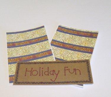 Holiday Fun Title - MME - Mat Set