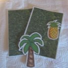 Tree and Pineapple - MME - Mat Set