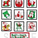 Baby's lst Christmas - 10 piece set