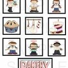 Bakery Delights - 10 piece set