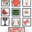 Basketball - 10 piece set