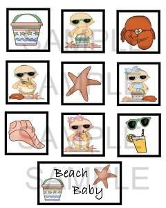Beach Baby - 10 piece set