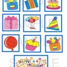Birthday - 10 piece set