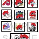 Cat In The Red Hat - 10 piece set