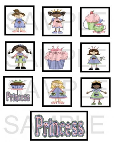 Cupcake Princess - 10 piece set